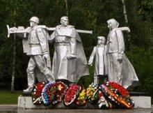 Памятники ВОВ в Дубне